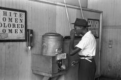 """Colored"" drinking fountain (Oklahoma, 1939) - Wikimedia Commons"